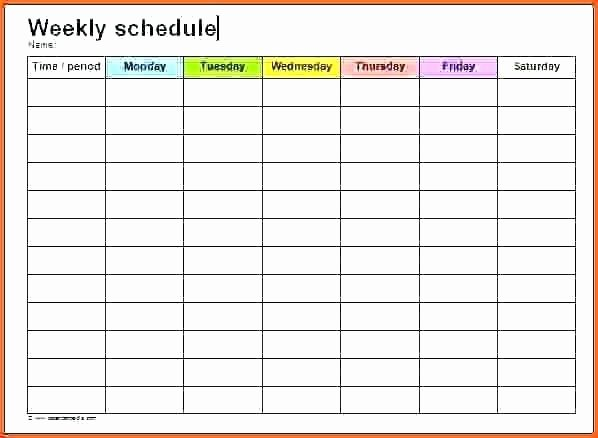 Monthly Cleaning Schedule Template Fresh Monthly Itinerary format Template Schedule Excel Download