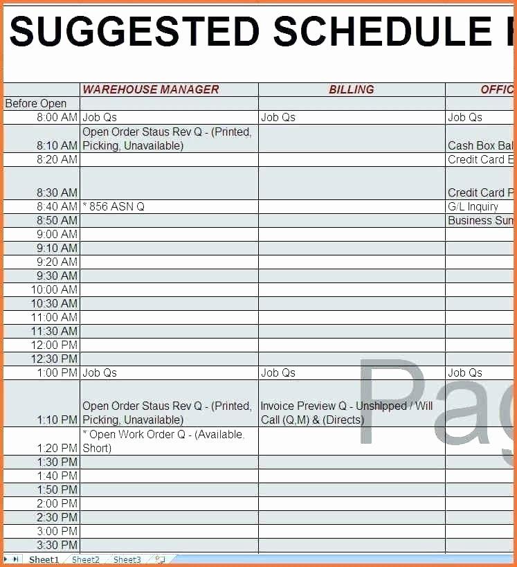 Monthly Employee Schedule Template Excel Elegant 92 Excel Spreadsheet Employee Schedule Full Size