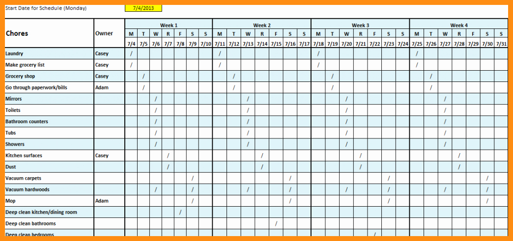 Monthly Employee Schedule Template Fresh Monthly Employee Schedule Template