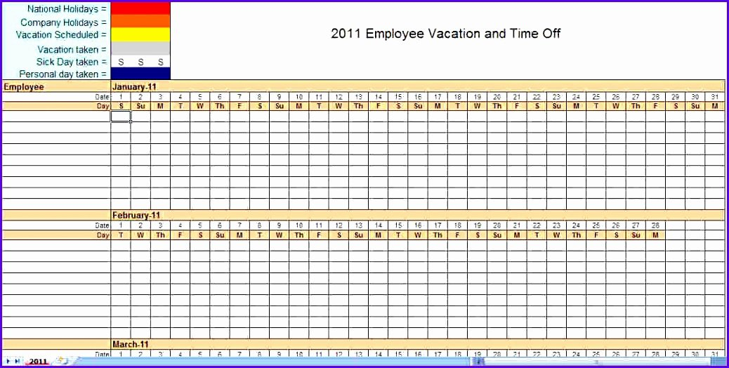 Monthly Employee Schedule Template New 12 Schedule Template for Excel Exceltemplates
