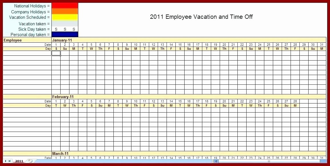 Monthly Employee Shift Schedule Template Best Of Monthly Work Schedule Template Excel Free Printable