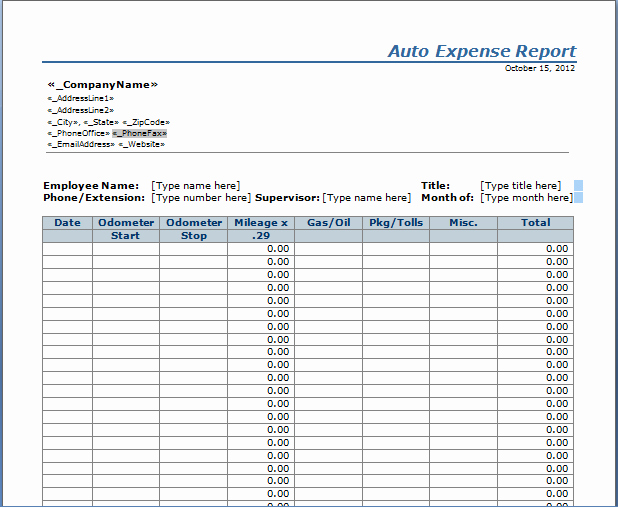 Monthly Expense Report Template Elegant Free Printable Weekly Expense Sheet 6 Best Images Of