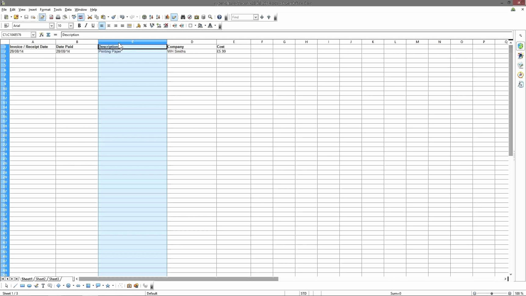 Monthly Expense Spreadsheet Template Inspirational Free Business Expense Spreadsheet Templates Business