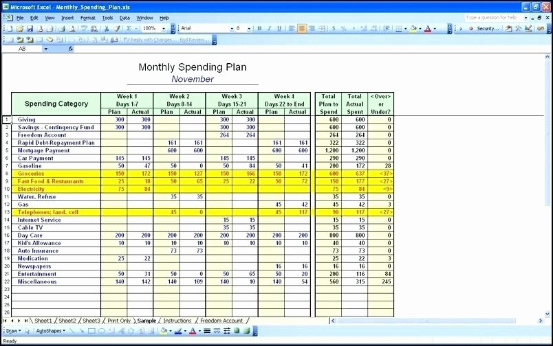 Monthly Expense Tracker Template Best Of Microsoft Excel Expense Tracker Template Expense Sheet
