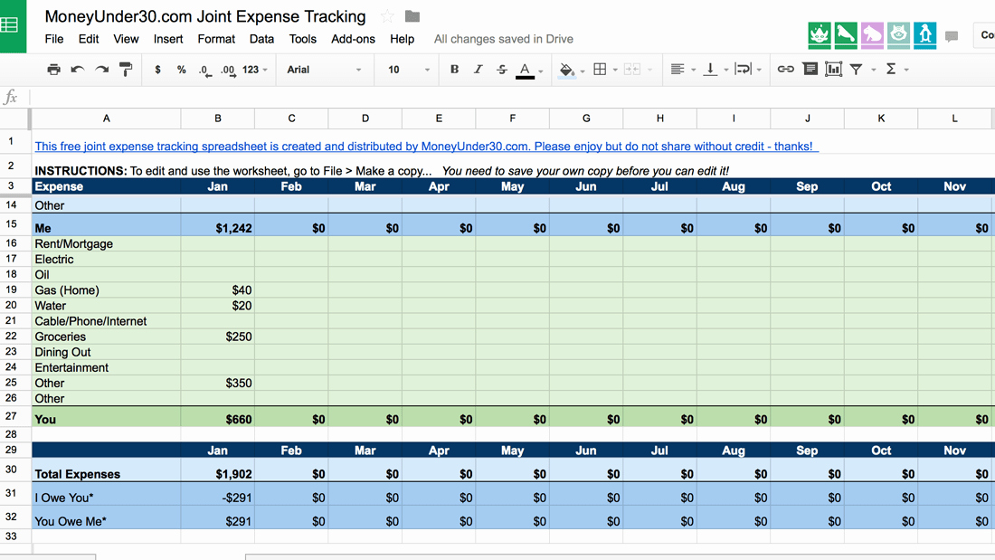 Monthly Expense Tracker Template Inspirational A Simple Spreadsheet for Tracking D Expenses