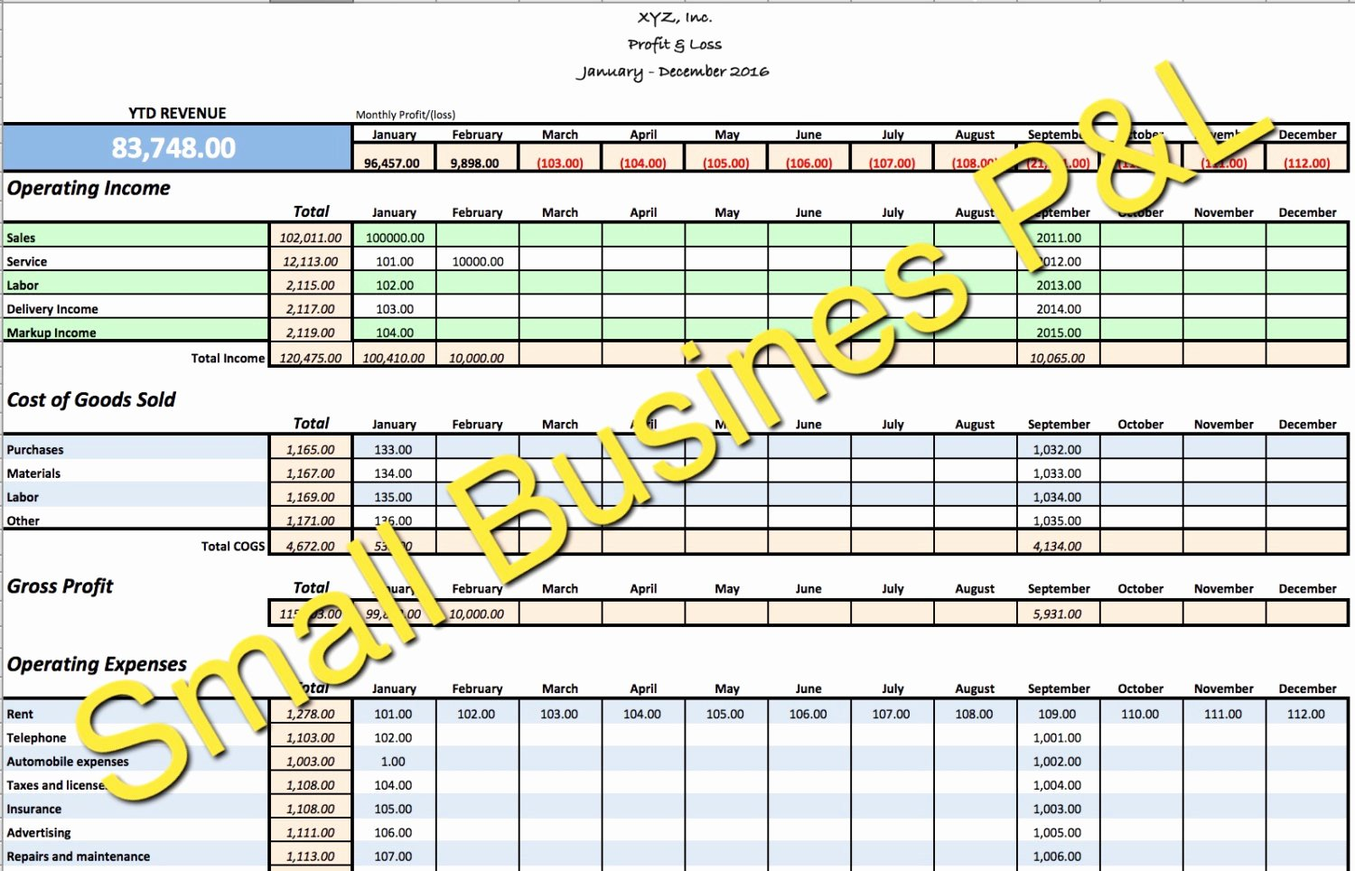 Monthly Expense Tracker Template New Small Business In E Expense Tracker Monthly Bud and