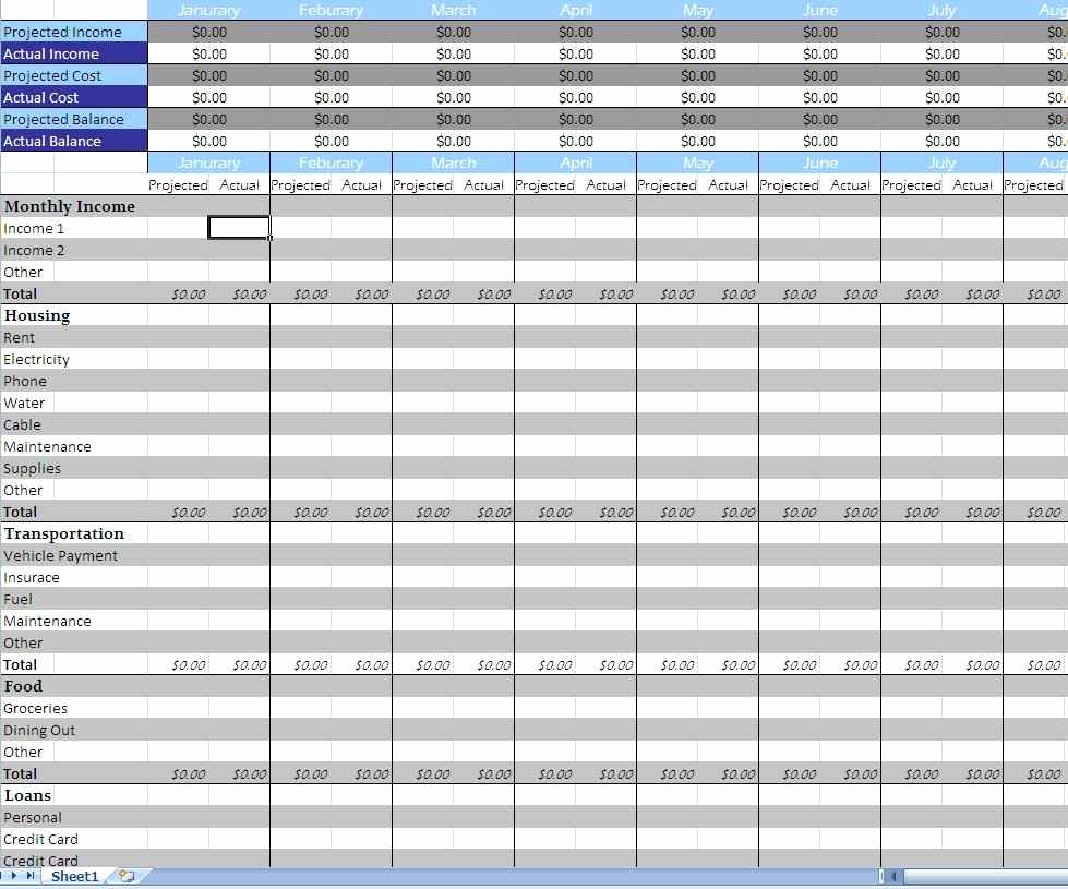 Monthly Expenses Spreadsheet Template Elegant Bud Ing Spreadsheet Template Bud Spreadsheet