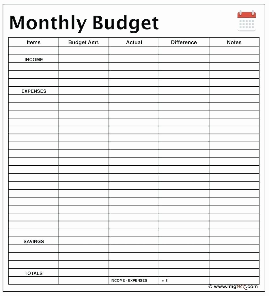 Monthly Income and Expense Template Best Of Template Monthly In E and Expenses Template Bud