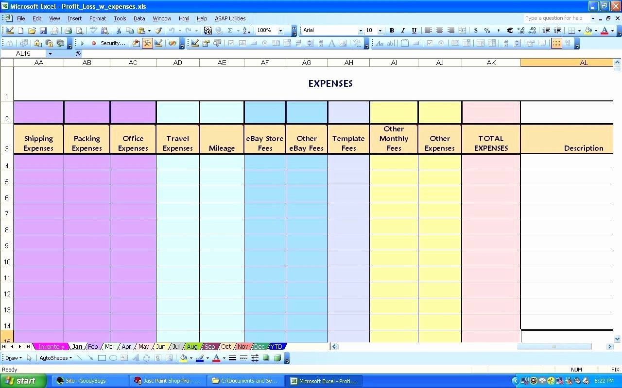 Monthly Income and Expense Template Elegant Template Monthly In E and Expenditure Template
