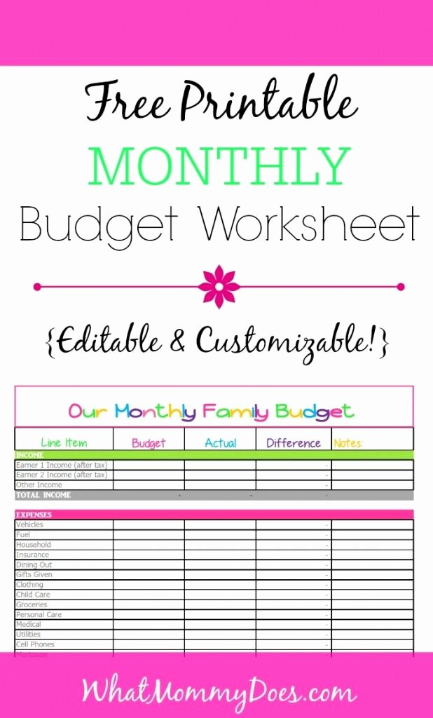 Monthly Income and Expenses Template Luxury Free Monthly Bud Template Cute Design In Excel