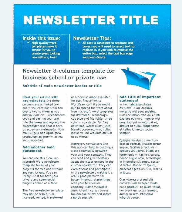 Monthly Newsletter Template for Teachers Inspirational X Science Class Newsletter Templates Monthly Template Word