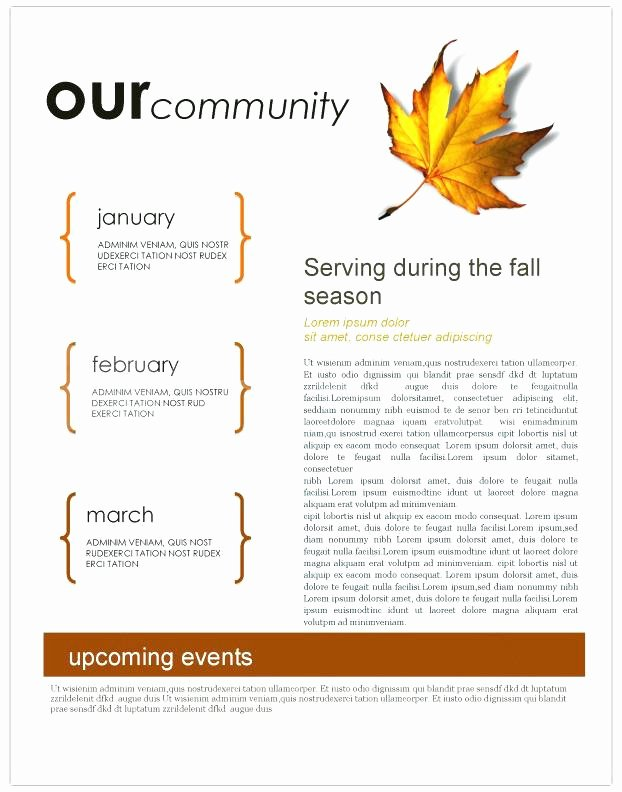 Monthly Newsletter Template for Teachers Unique March Newsletter Template Free Printable Monthly Templates
