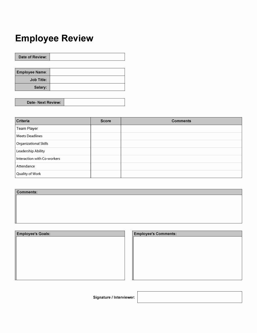 "Monthly Performance Review Template Beautiful Search Results for ""employee Monthly Evaluation forms"