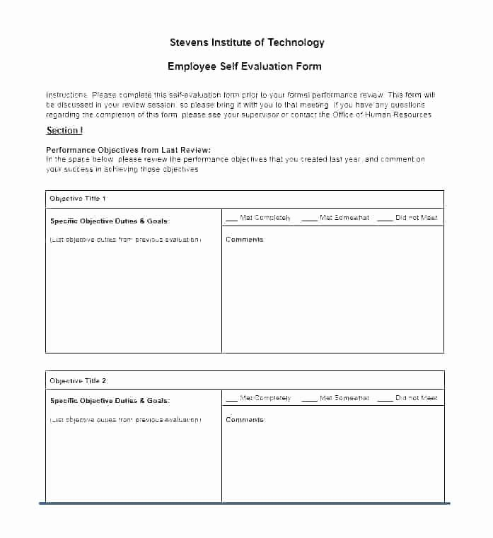 Monthly Performance Review Template Luxury Trump Blue 6 Month Performance Review Template Employment