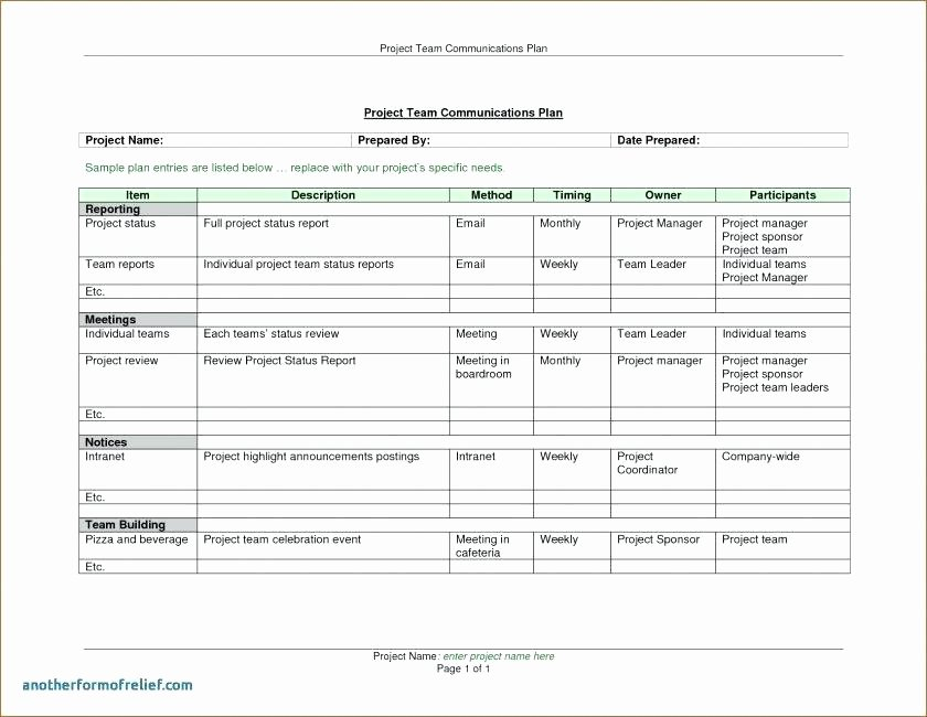 Monthly Report Template for Manager Beautiful Monthly Report Template End Month Image Financial