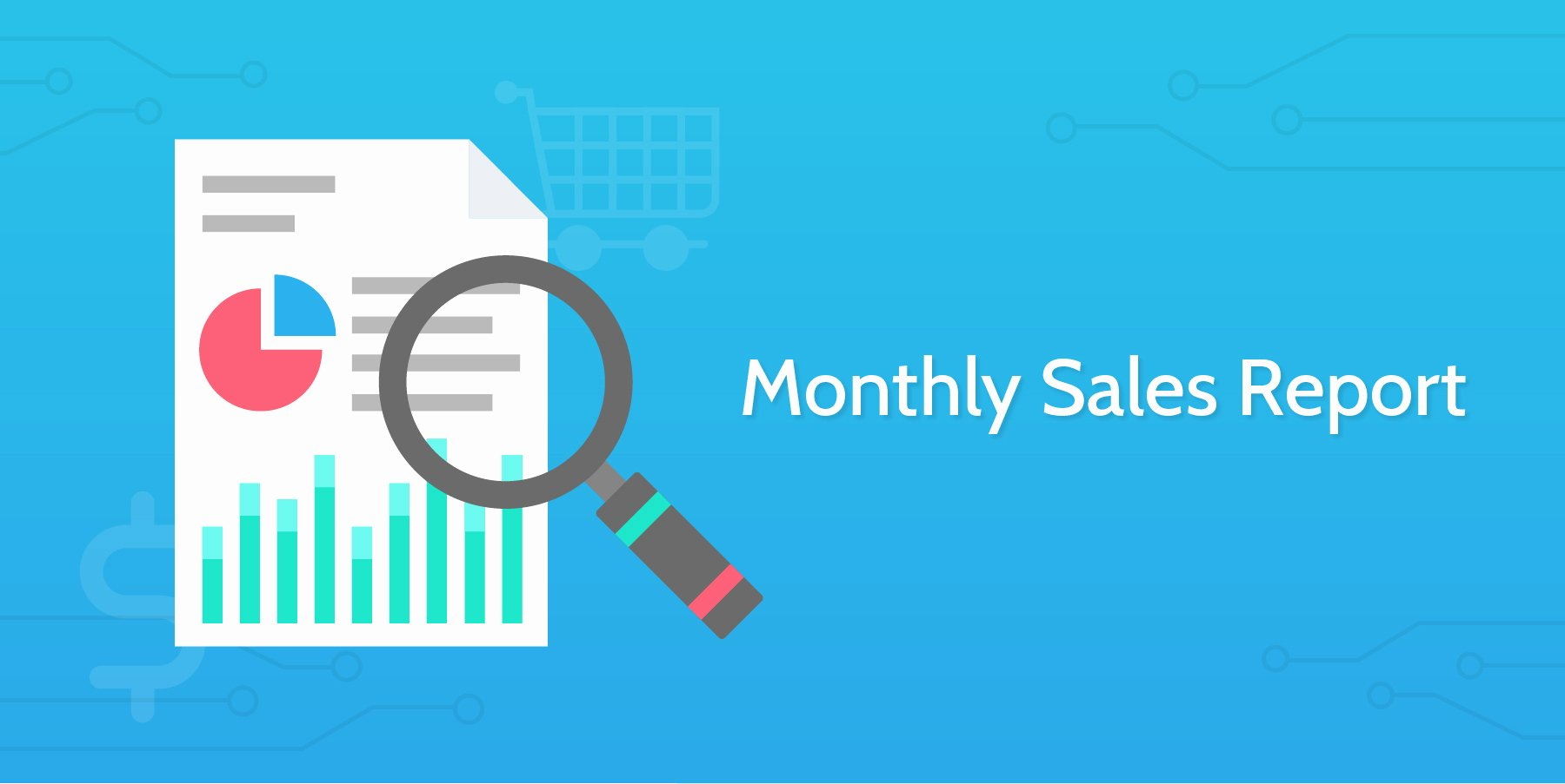 Monthly Sales Report Template Luxury Monthly Sales Report