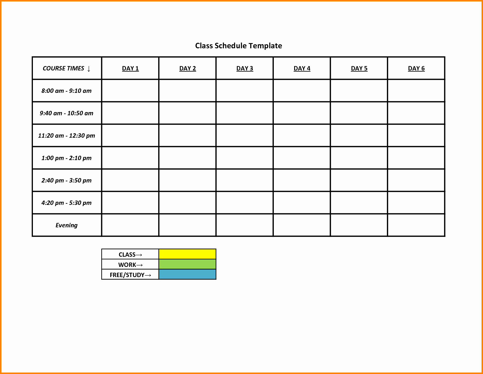 Monthly Shift Schedule Template Beautiful Weekly College Schedule Blank Weekly Shift Schedule