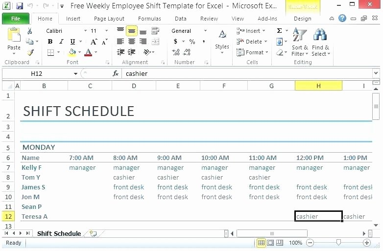 Monthly Shift Schedule Template Fresh Great Shift Schedule Template Shift Schedule