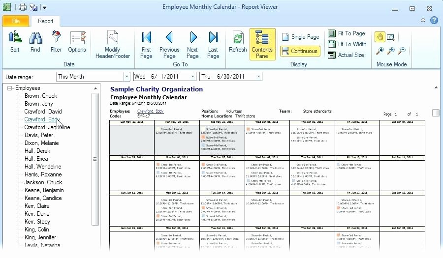 Monthly Shift Schedule Template Lovely Monthly Staff Roster Template Free Employee and Shift