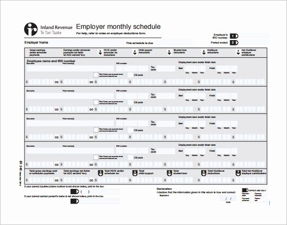 Monthly Staff Schedule Template New Monthly Work Schedule Template 25 Free Word Excel Pdf