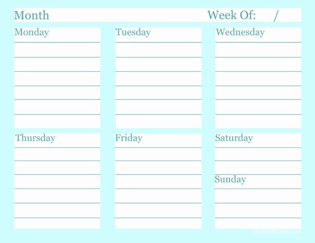 Monthly to Do List Template Luxury Free Printable Weekly to Do List Template