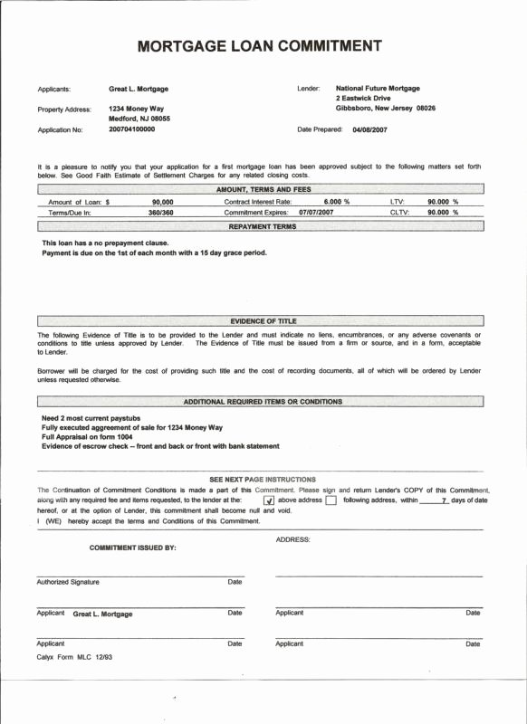 Mortgage Pre Approval Letter Template Lovely the Difference Between A Pre Approval and A Pre