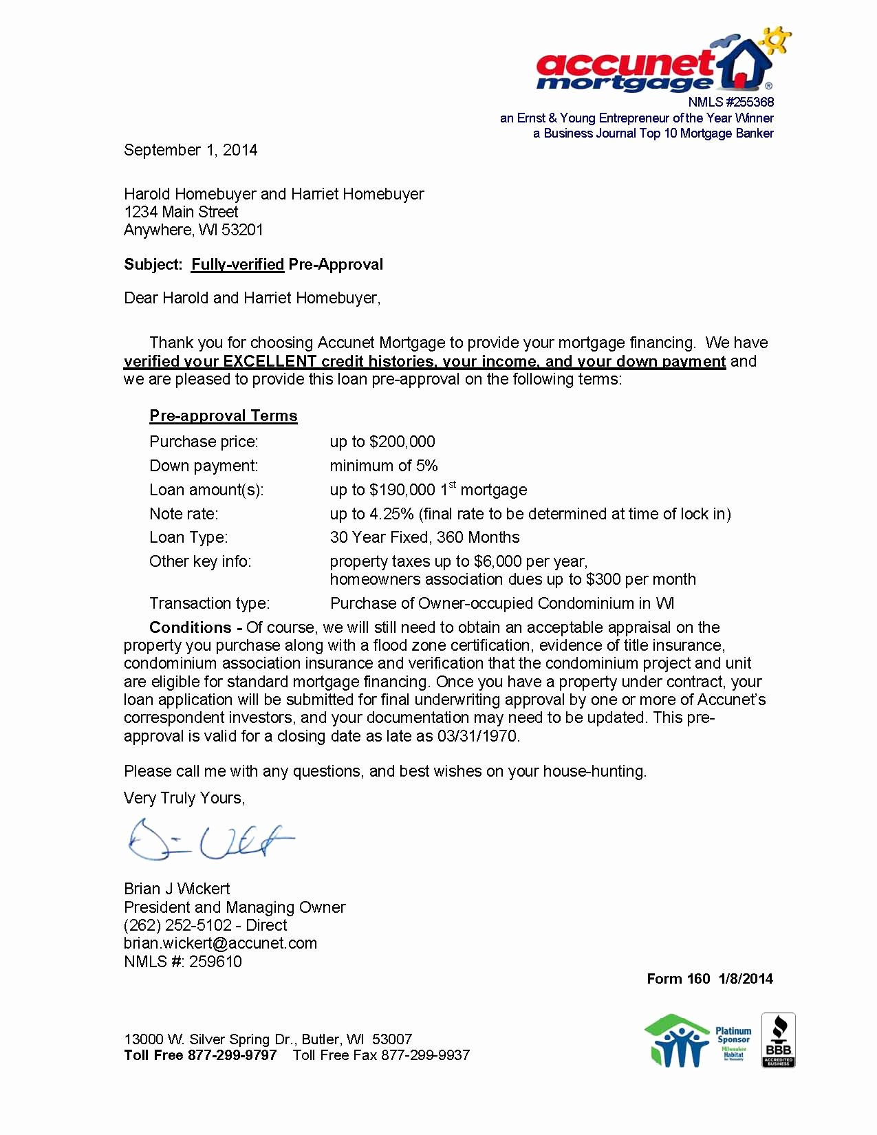 Mortgage Pre Approval Letter Template Lovely why A Rock solid Pre Approval