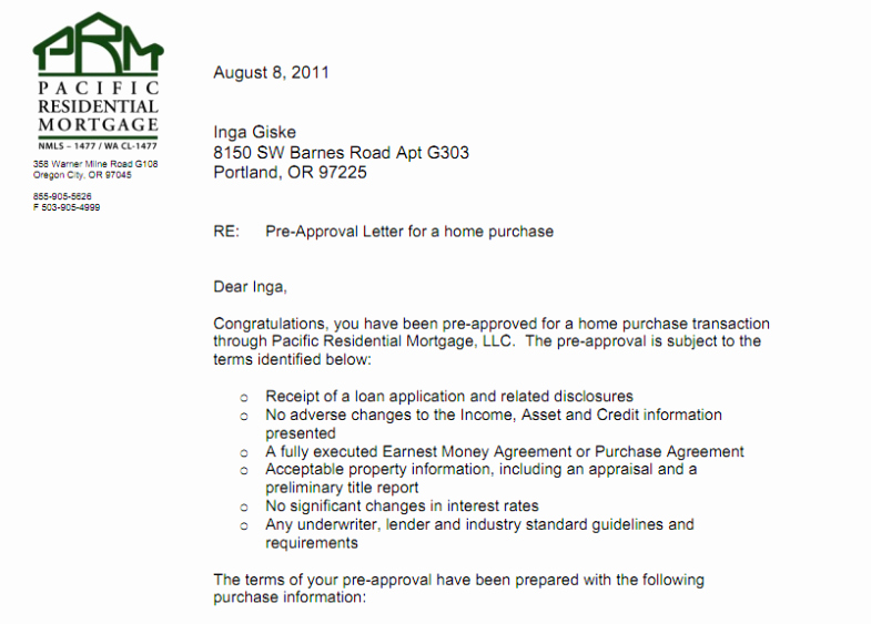 Mortgage Pre Approval Letter Template Unique Ssdi Approval Letter Example Template social Security
