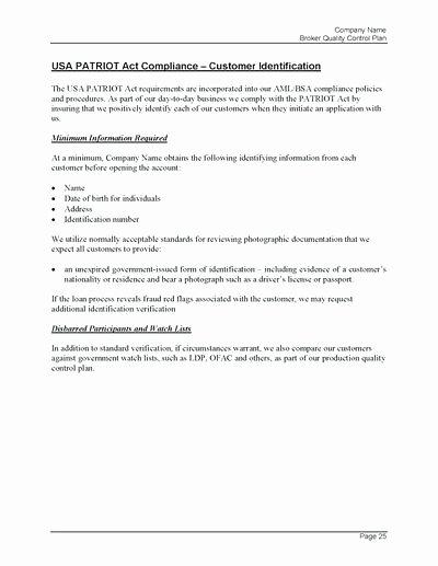 Mortgage Quality Control Plan Template Elegant Welding Quality Control Plan Template Strand and