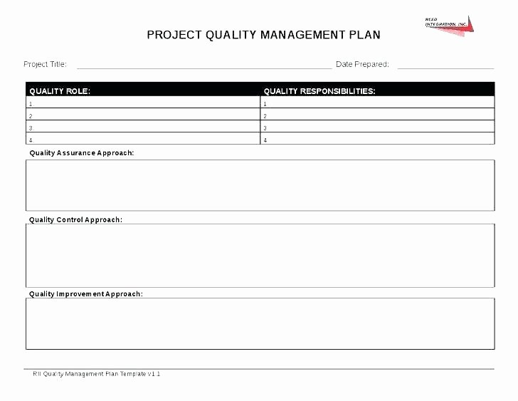 Mortgage Quality Control Plan Template Inspirational Quality Control Program Template – Ksckfo