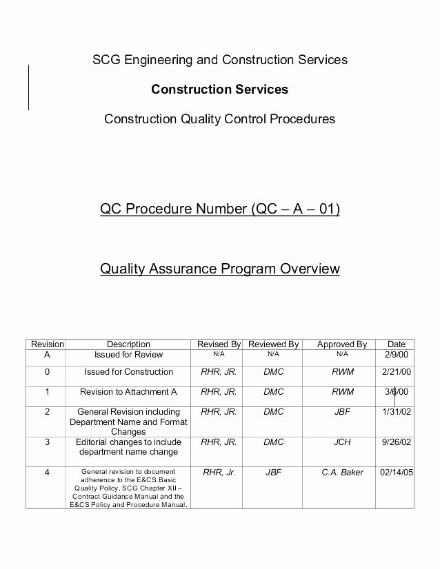 Mortgage Quality Control Plan Template Lovely Pretty Quality Control Plan Sample Template Quality