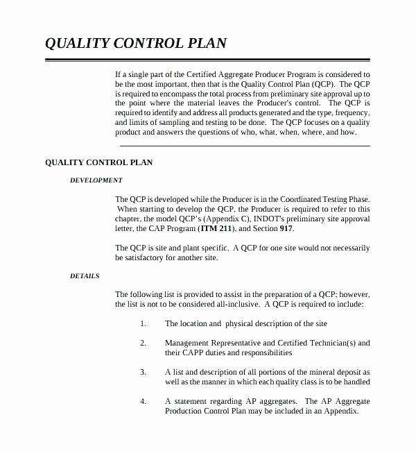 Mortgage Quality Control Plan Template Unique Welding Quality Control Plan Template Strand and