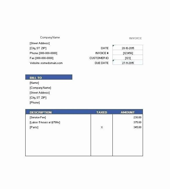 Motel 6 Receipt Template Inspirational Motel Invoice Template E Checklist that You Should Keep