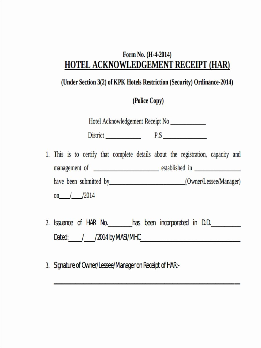 Motel 6 Receipt Template Unique 8 Hotel Receipt Examples & Samples Pdf Word Pages