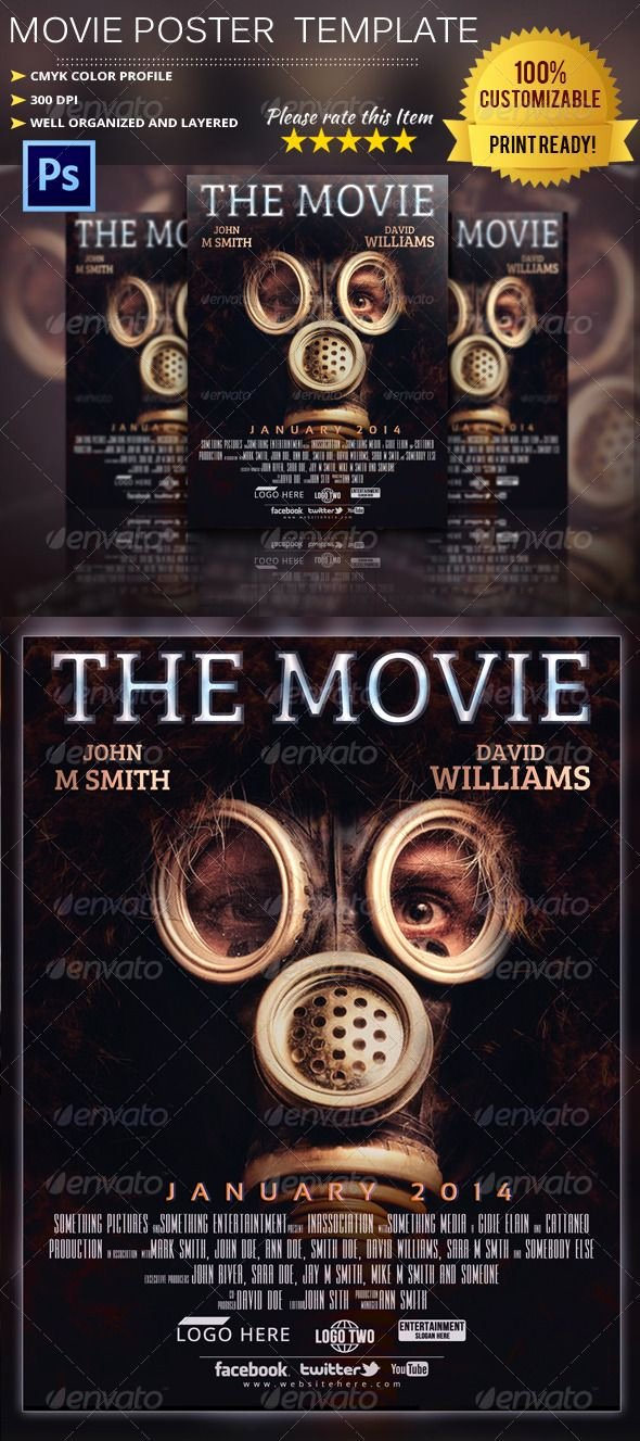 Movie Poster Design Template Best Of Best 25 Movie Poster Template Ideas On Pinterest