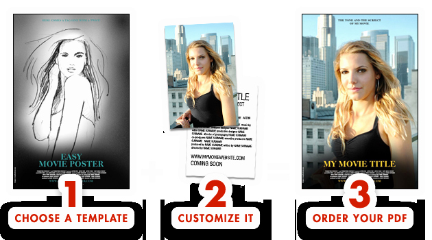 Movie Poster Design Template Fresh Easy Movie Poster