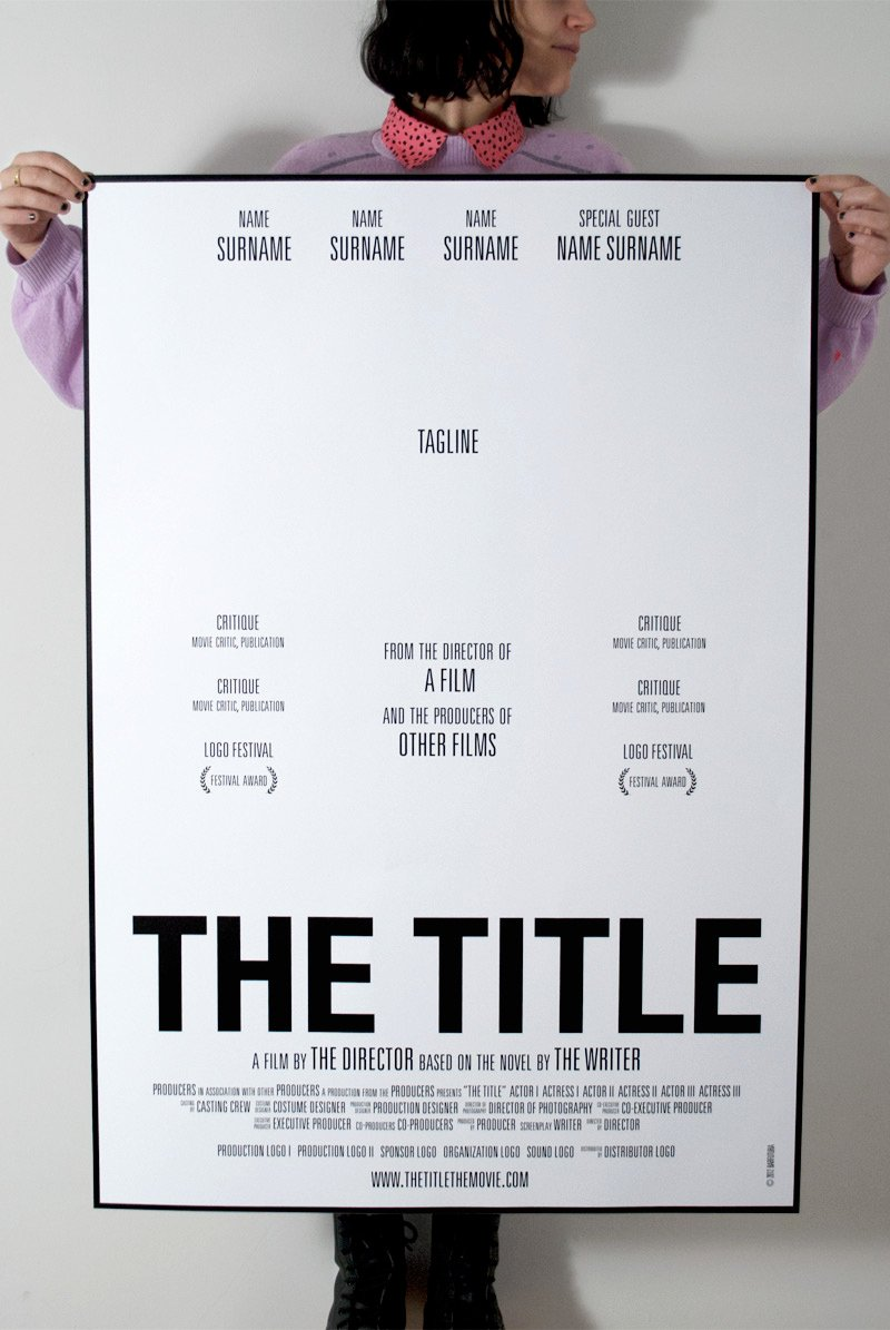 Movie Poster Design Template Luxury How to Make Movie Posters to Promote Your