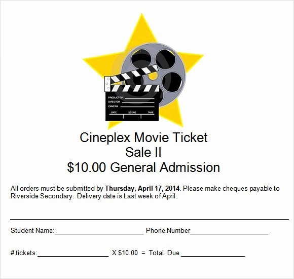 Movie Ticket Template for Word Luxury 15 Sample Amazing Movie Ticket Templates Psd Ai Word