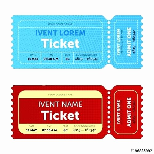 Movie Ticket Template for Word Luxury Admit Ticket Template Extraordinary Admit E Movie Ticket