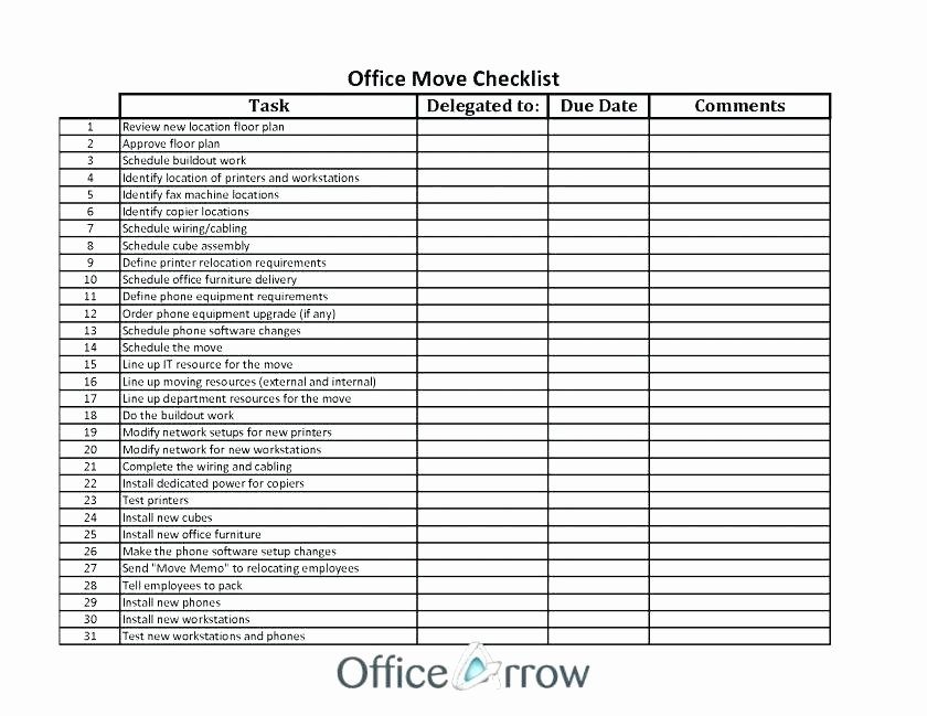 Moving Checklist Printable Template Best Of Fice Moving Notice to Landlord Template City New