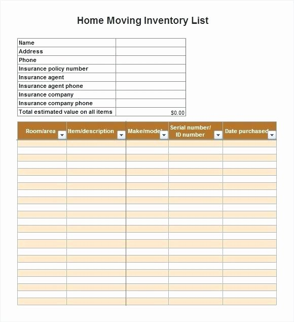 moving box inventory template