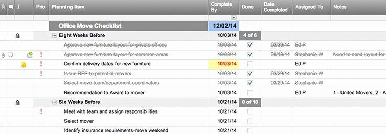 Moving Office Checklist Template Fresh Fice Move Checklist Template