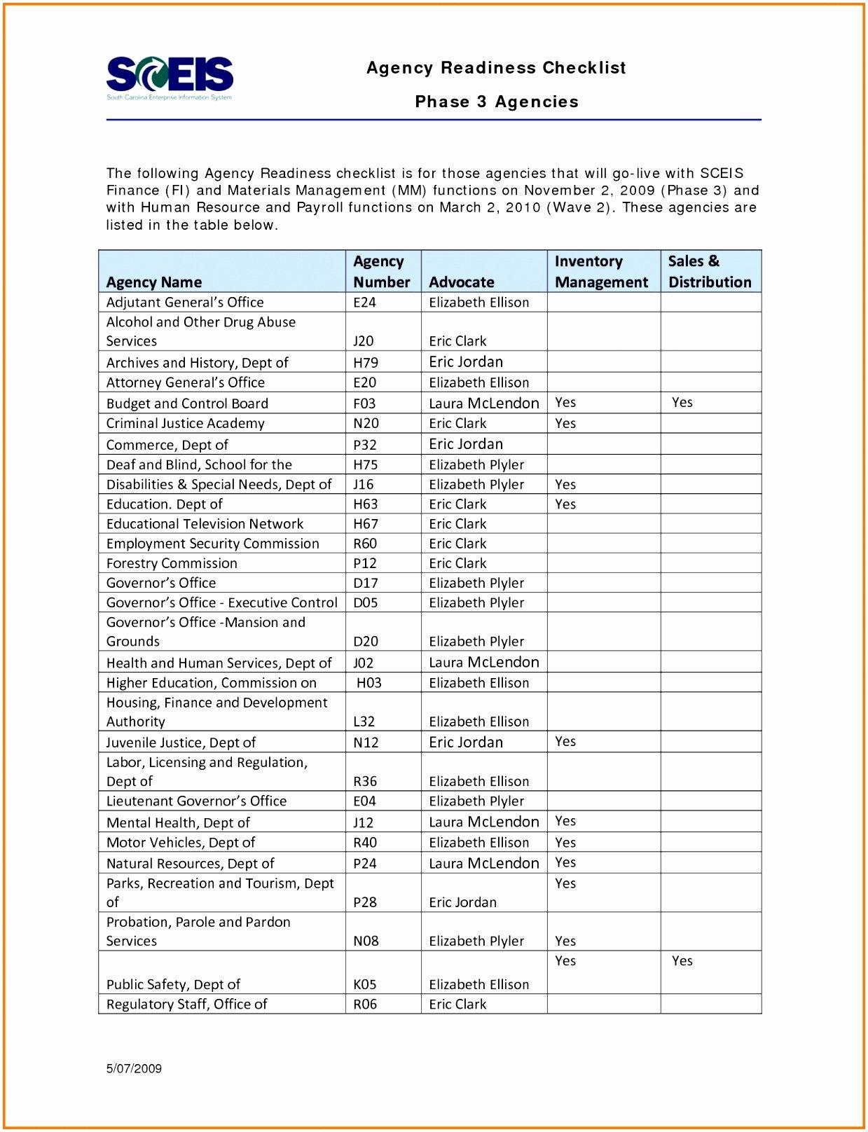 Moving Office Checklist Template Unique 9 Fice Move Checklist Template Excel Rrrqa