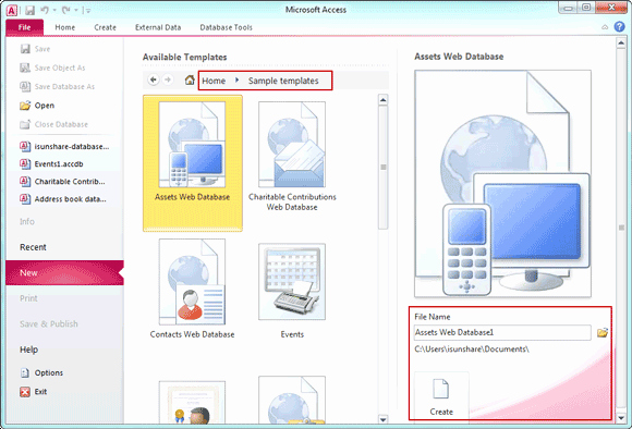 Ms Access 2007 Template Beautiful 3 Ways to Create Access 2007 2013 Database