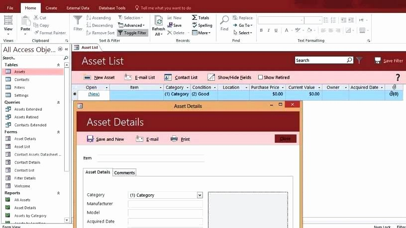 Ms Access 2007 Template Fresh Microsoft Access 2007 Templates Business What if Ms