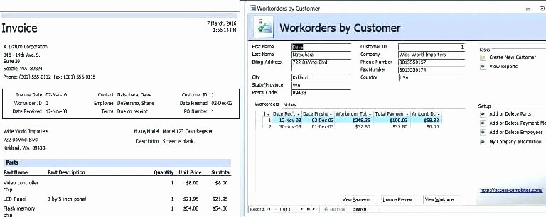 Ms Access 2007 Template Inspirational Microsoft Access 2007 Employee Database Template Free