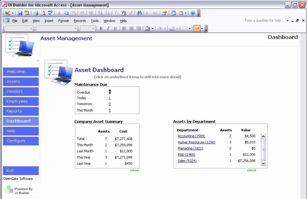 Ms Access Dashboard Template Elegant Microsoft Access Templates Powerful Ms Access Templates