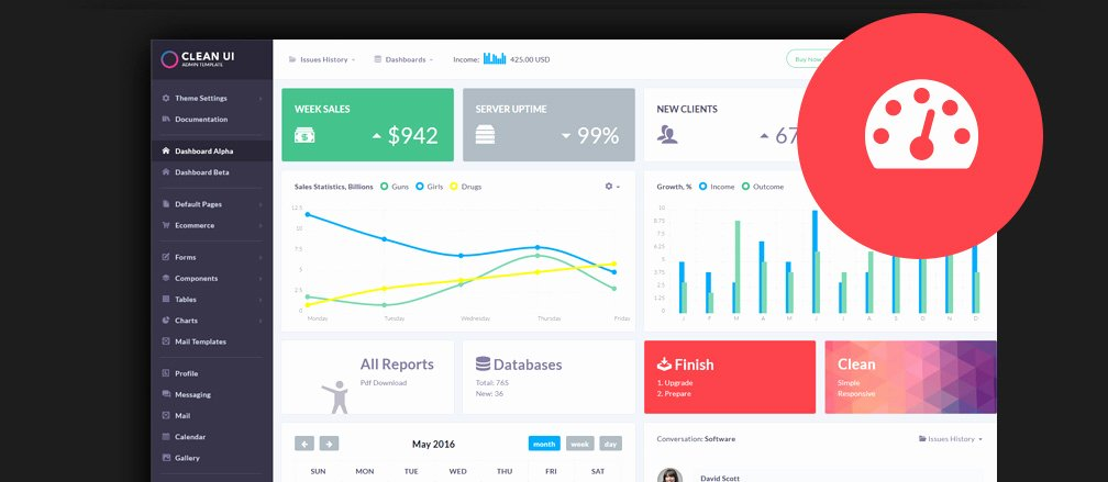 Ms Access Dashboard Template Inspirational 60 Best HTML 5 Admin & Dashboard Templates 2017