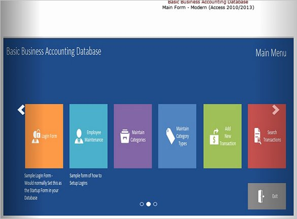Ms Access Database Template New 51 Microsoft Access Templates – Free Samples Examples