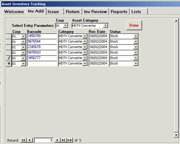 Ms Access Inventory Template Awesome Microsoft Access Inventory Template Sample Stock Control